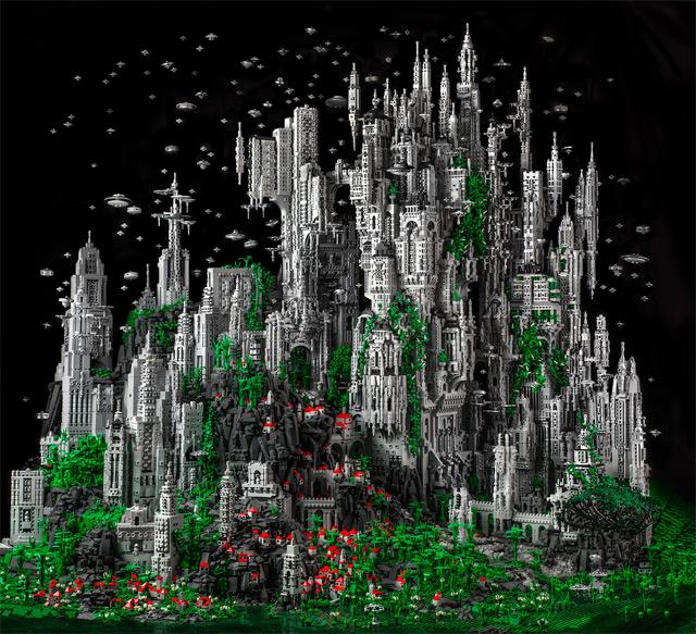 Contact 1: A 200,000 Piece LEGO Masterwork