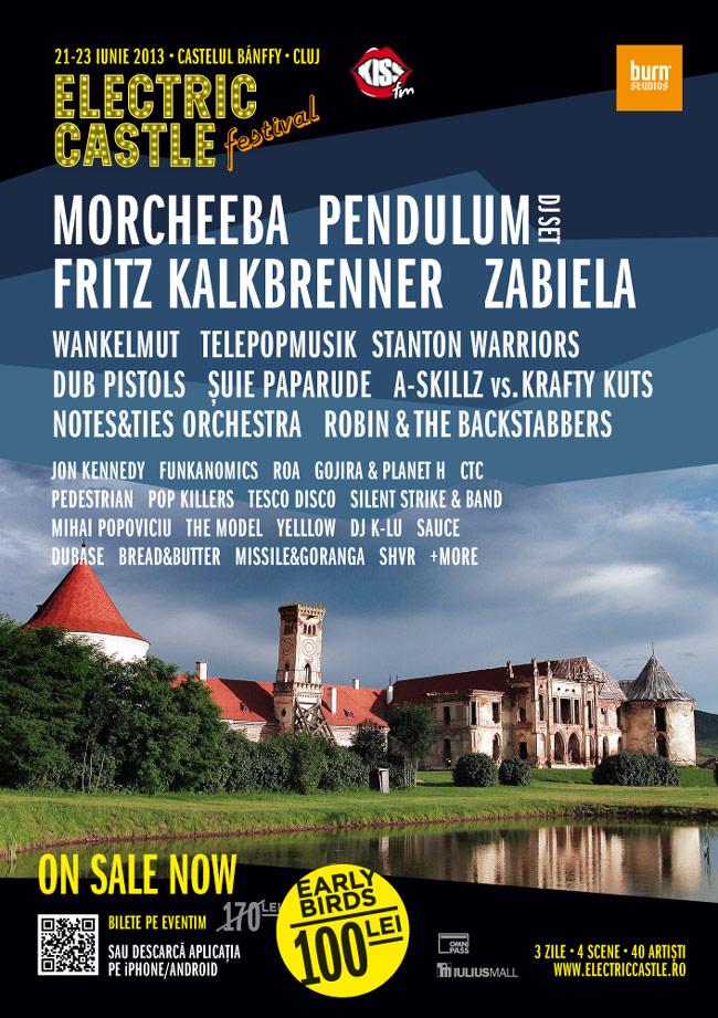 Fritz Kalkbrenner, Lights Out și Loungerie II se adaugă și ei lineup-ului Electric Castle Festival