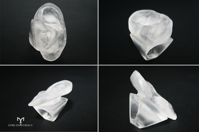 Imperfect Perfection: bijuterii inspirate de artiști, create de Doru Dumitrescu @ Târg Autor Bijuterie Contemporană