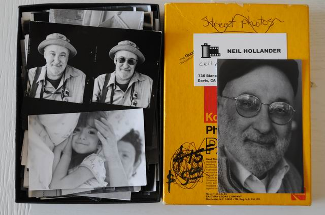 Personal archive – Neil Hollander