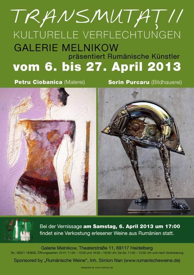 TRANSMUTATII – Petru Ciobanica si Sorin Purcaru @ Heidelberg