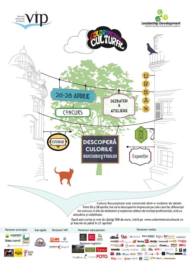 Colorimetrul Cultural, concurs pentru cei mai buni studenți iubitori de artӑ și de București