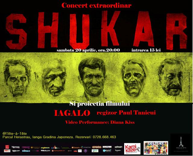 Concert extraordinar SHUKAR @ Tete-a-Tete București