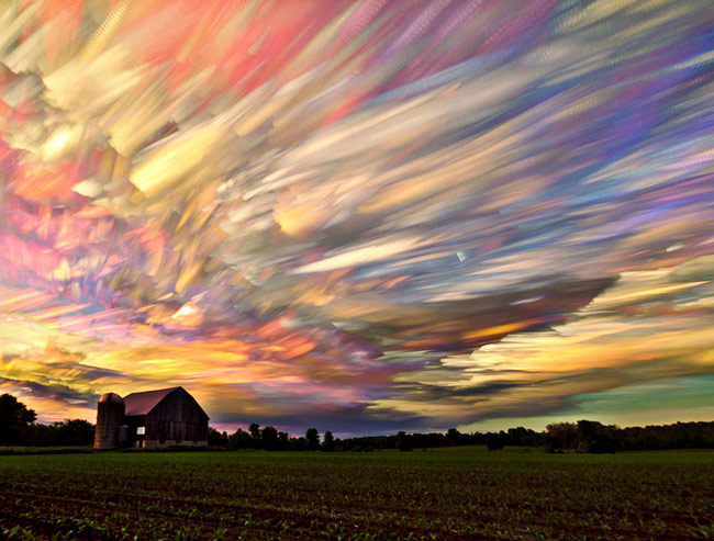 Smeared Sky Photography by Matt Molloy