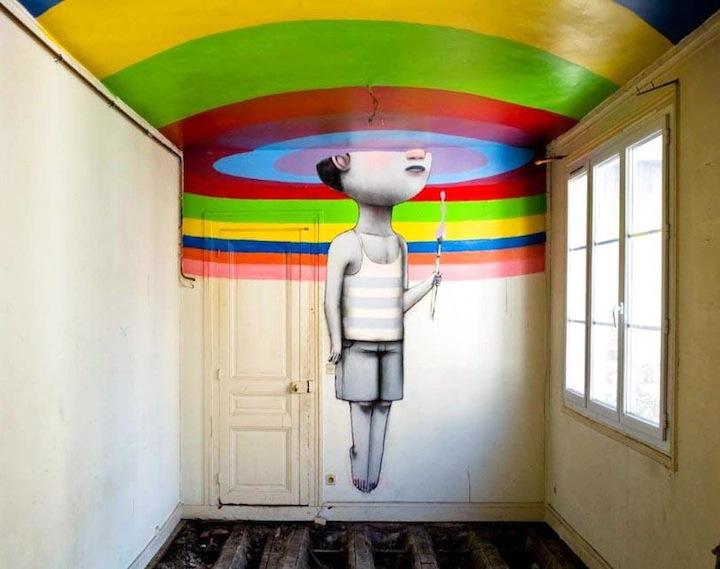 The Globetrotting Street Art of Julien Malland