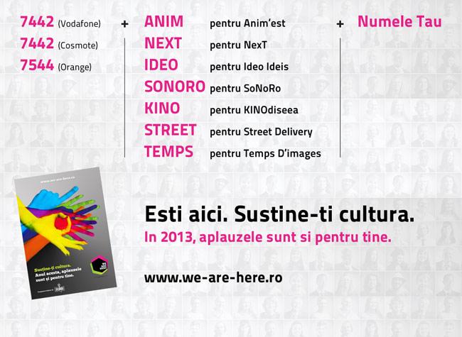 we-are-here.ro crowdfunding pentru festivalurile culturale independente