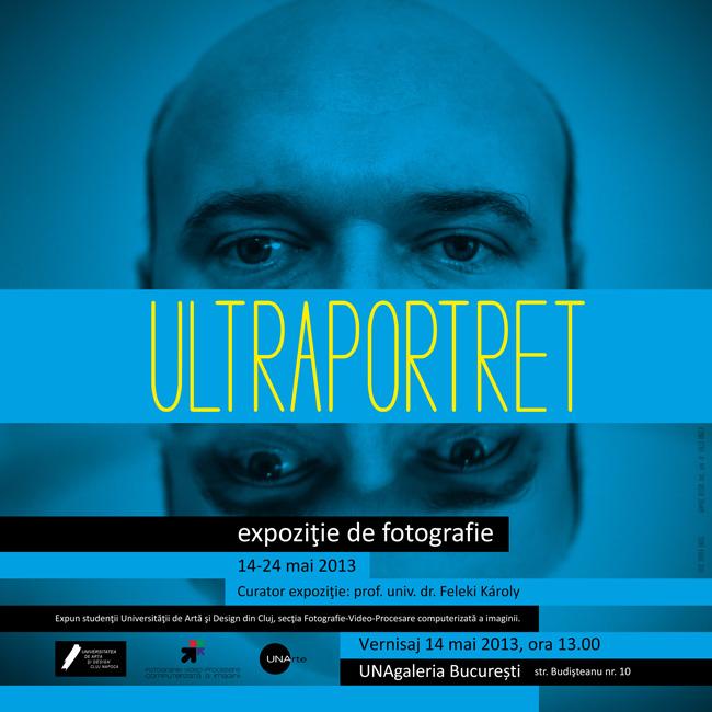 Expoziția Ultraportret a studenților de la foto-video @ UNAgaleria București