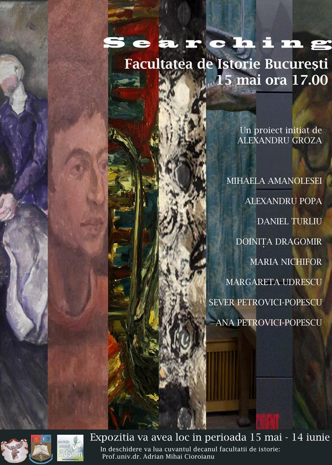 """Expoziția """"Searching"""" @ Universitatea București, Facultatea de Istorie"""
