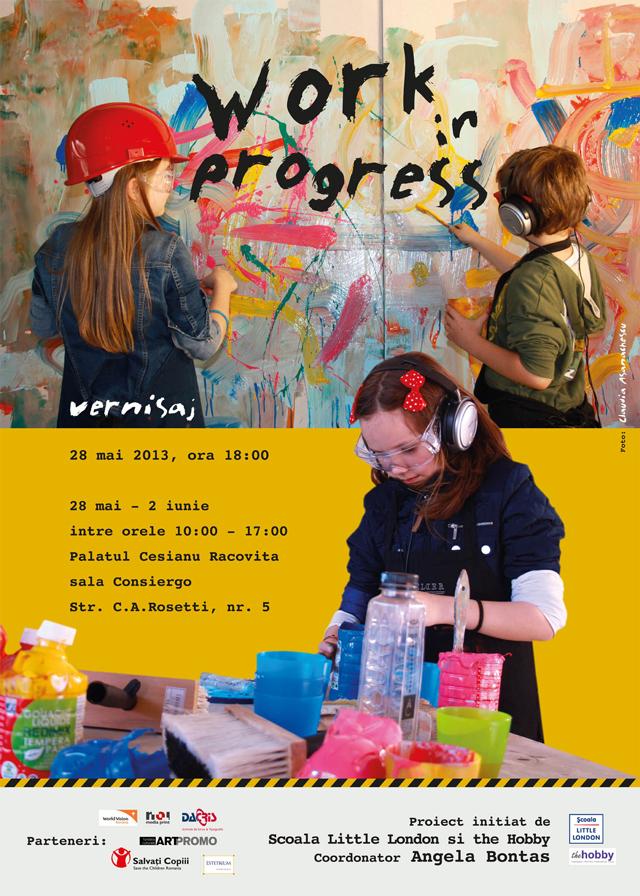 Work in progress#2013, un proiect inițiat de Școala Gimnazială Little London București