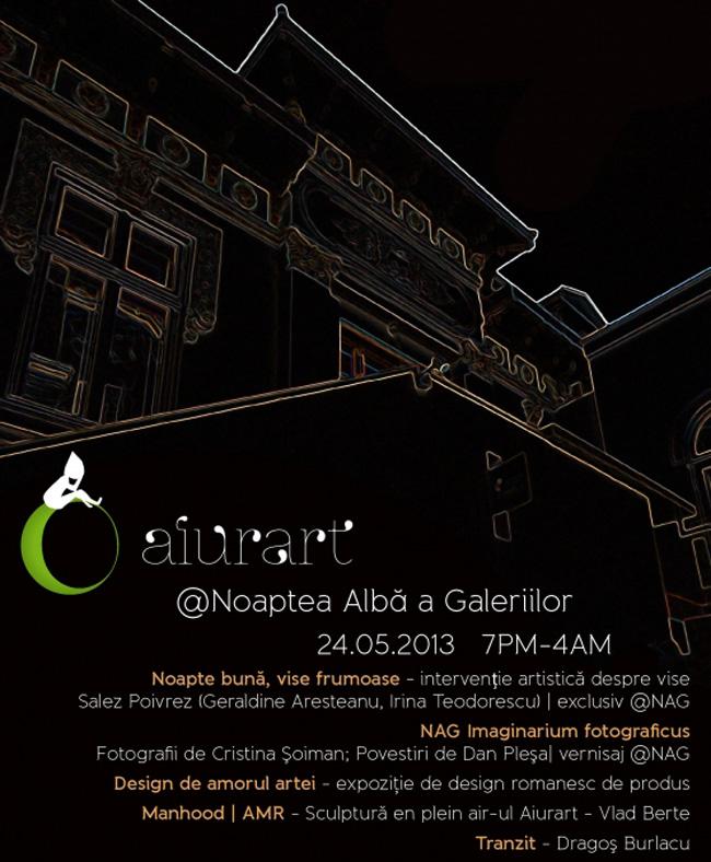 1 an de Aiurart @ Noaptea Albă a Galeriilor
