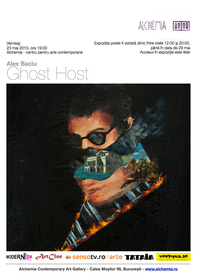 "Alexandru Baciu ""Ghost Host"" @ Alchemia, București"