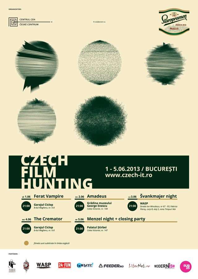 Czech Film Hunting @ București