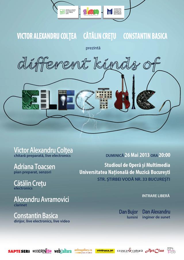 Spectacol inedit: Muzică interactivă multimedia @ Universitatea Națională de Muzică din București, Centrul de Muzică electroacustică și Multimedia