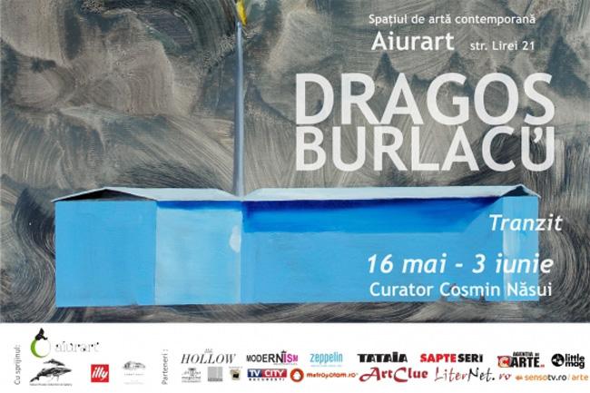 """Dragoş Burlacu """"Tranzit"""" @ Aiurart, București"""
