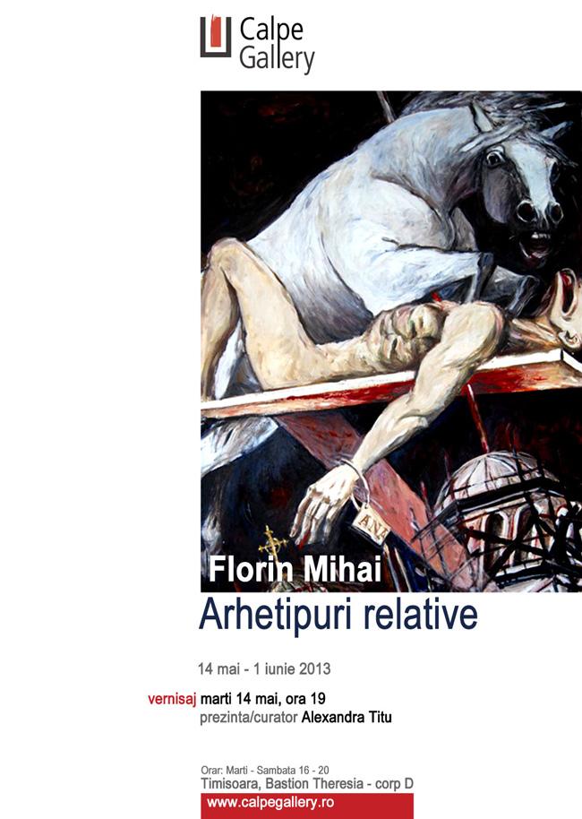"""Expoziţie de pictură şi grafică Florin Mihai """"Arhetipuri relative"""" @ Calpe Gallery, Timișoara"""