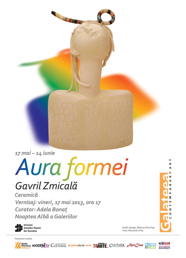 """Gavril Zmicală """"Aura formei"""" @ Galeria Galateea, București"""