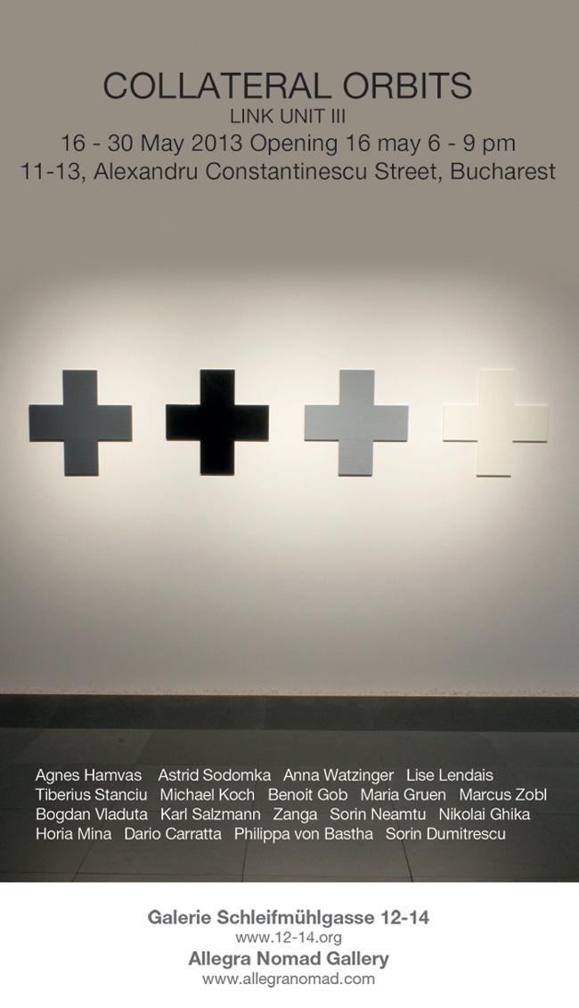 """Collateral Orbits"" @ Allegra Nomad Gallery, București"