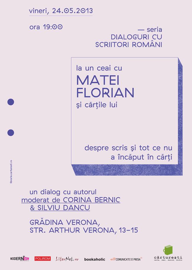 Dialoguri cu scriitori români, prima ediţie la Bucureşti