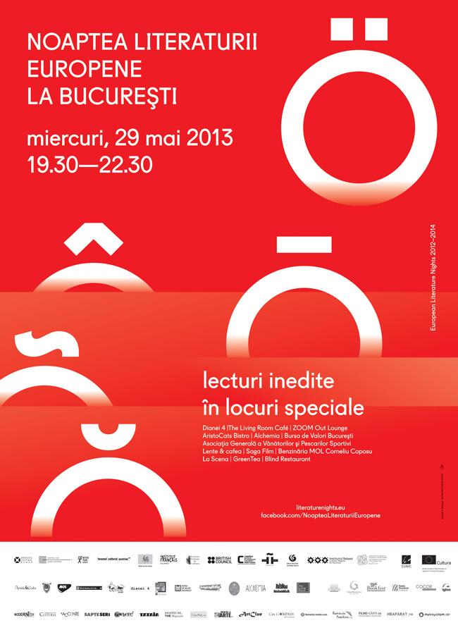 Noaptea Literaturii Europene la Bucureşti