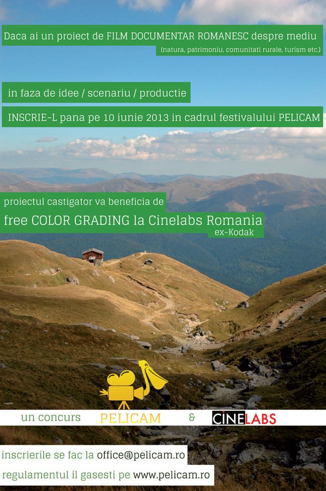 Pelicam International Film Festival incurajează producțiile de film documentar Românesc!