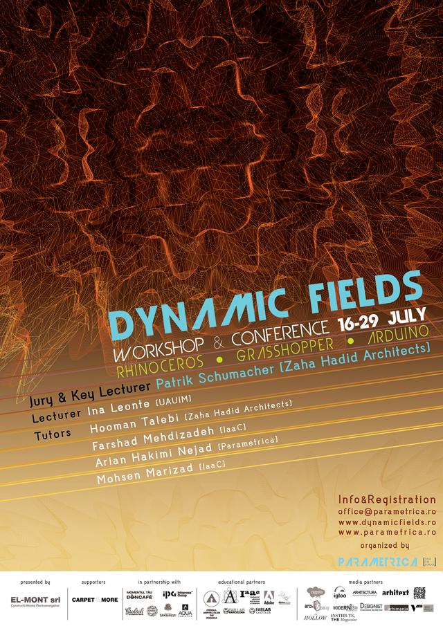 Parametrica anunţă Dynamic Fields, cel mai important eveniment al designului parametric în 2013
