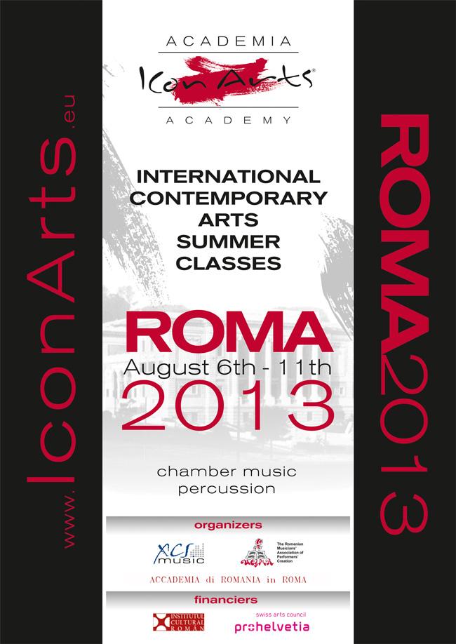 """Festivalul și Academia ICon Arts anunță prima ediție a cursurilor muzicale de vară """"ICon Arts – Roma"""""""