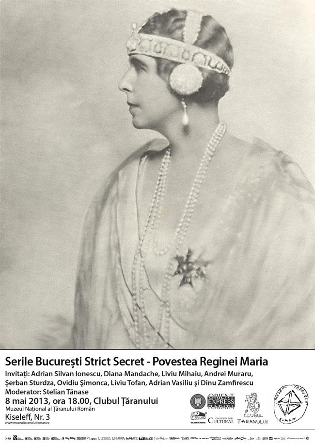 Povestea Reginei Maria @ Muzeul Național al Țăranului Român