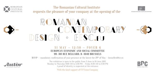 Creativitate made in Romania la Bruxelles