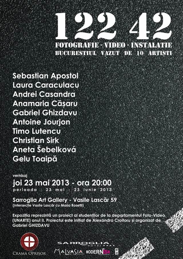 Bucureștiul văzut de 10 artiști @ Hotel Sarroglia, București