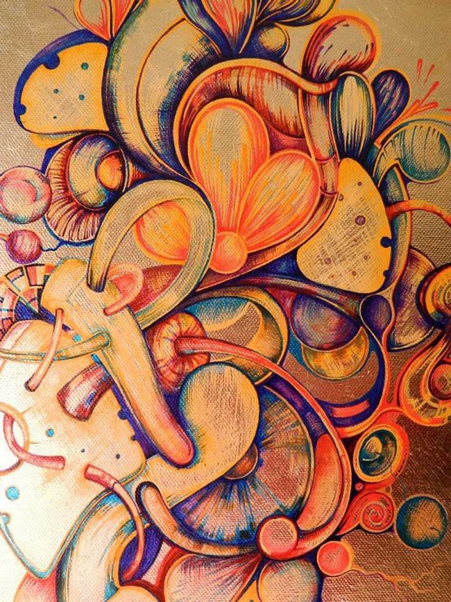 Expoziție a pictoriței Ștefania Nistoreanu, la Palatul Brukenthal Avrig