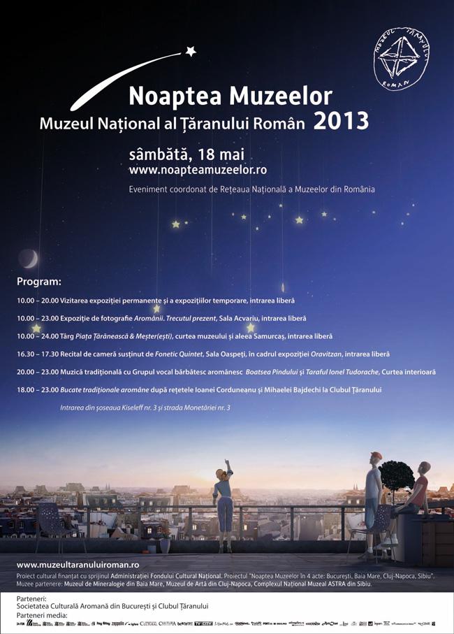 Ziua Internaţională a Muzeelor şi Noaptea Europeană a Muzeelor @ MȚR