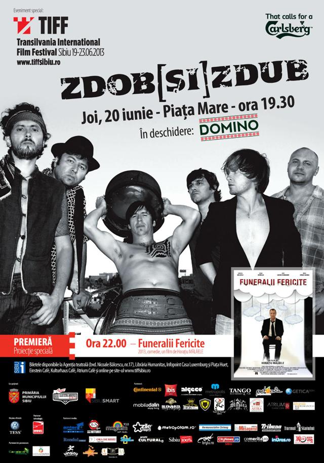 Everybody in the Piaţa Mare cu Zdob şi Zdub și Horațiu Mălăele @ TIFF Sibiu