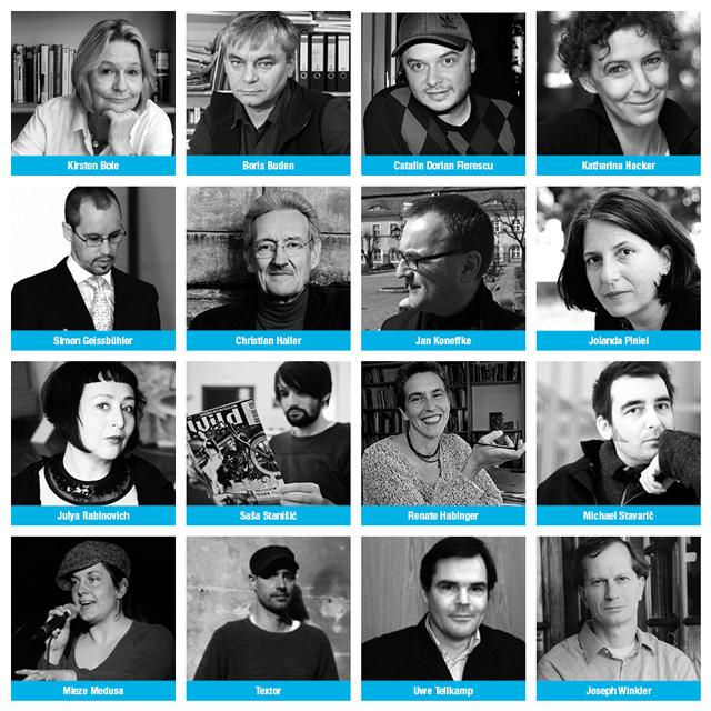 Invitații de onoare ai Salonului de Carte Bookfest, ediția 2013