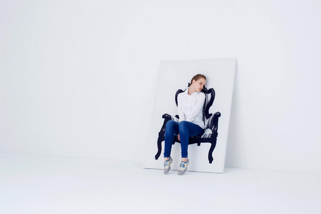 The Amazing Canvas Chair that Hangs on Your Wall