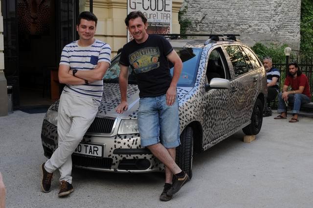 "Aurel TAR ""G – CODE"" @ ATELIER 030202, București"