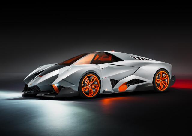 Lamborghini Egoista Concept, A One-Seat Supercar Inspired by Aircraft Design