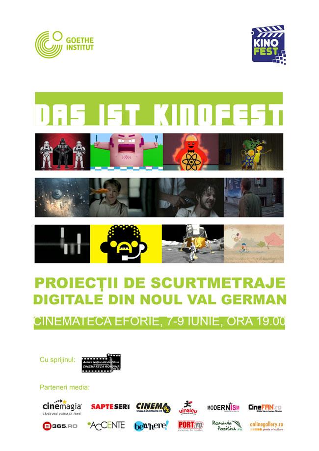 DAS IST KINOFEST, Proiecții de scurtmetraje digitale din noul val german