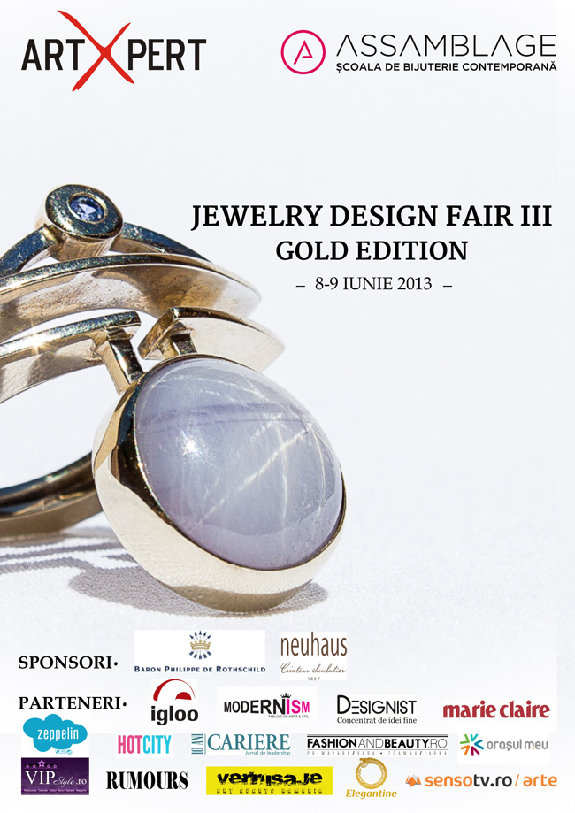 JEWELRY DESIGN FAIR III – GOLD EDITION