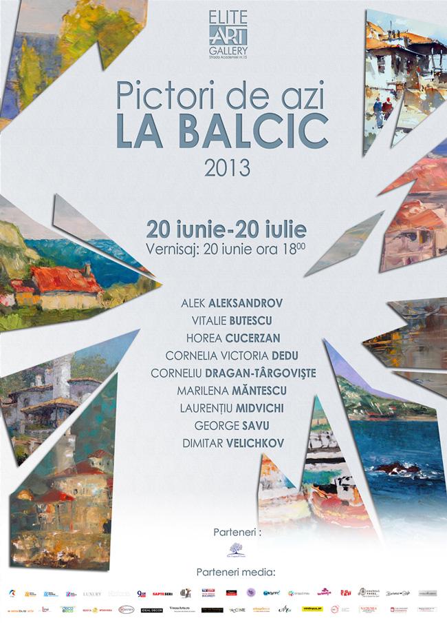 """""""Pictori de azi la Balcic 2013"""" @ Elite Art Gallery, București"""