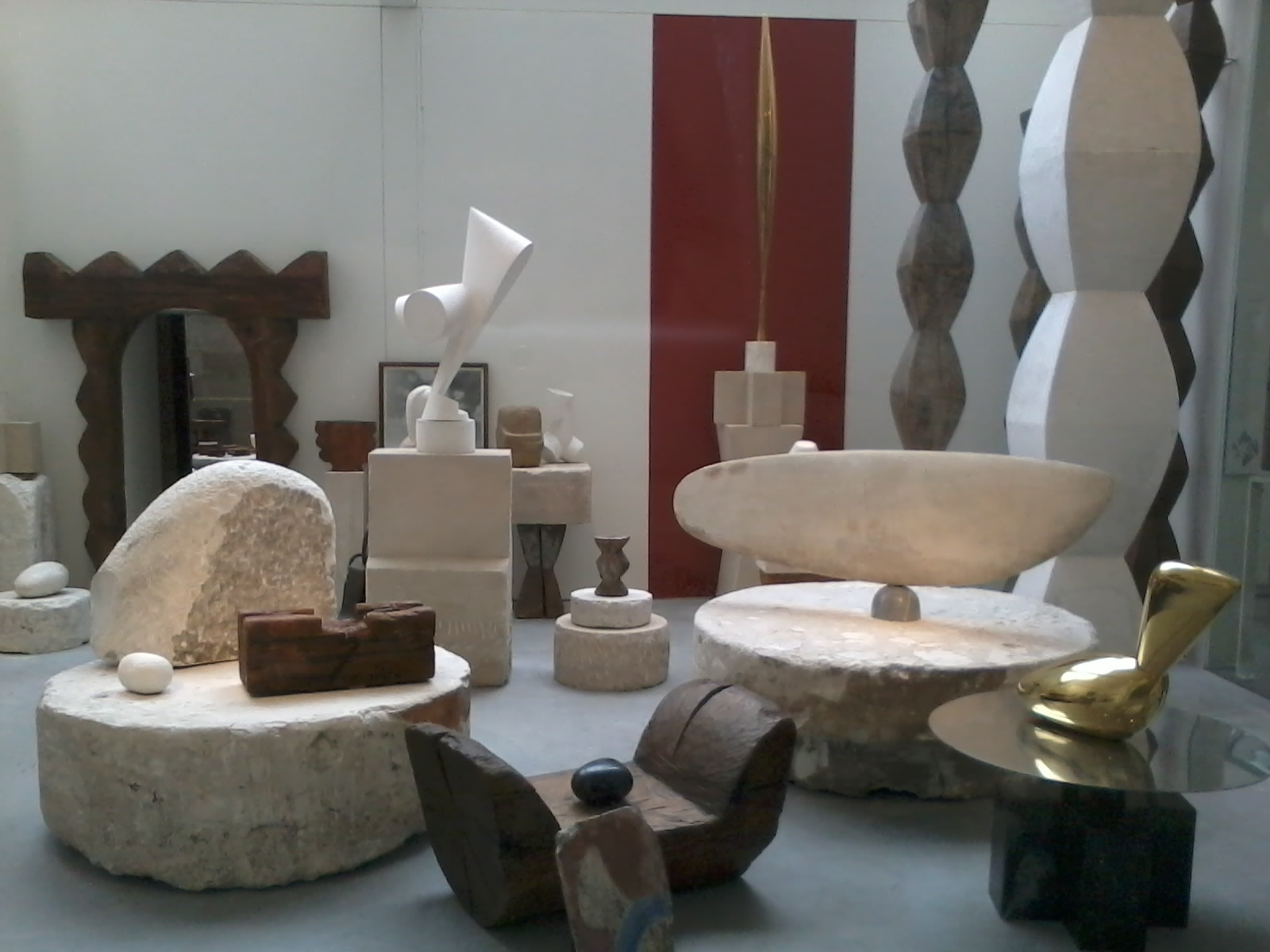 Atelier Brâncuși – Centre Georges Pompidou, Paris