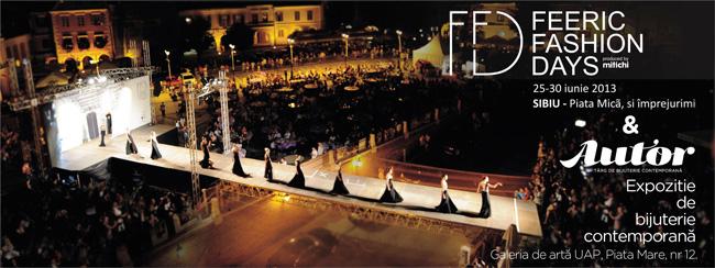 AUTOR – Expoziție de bijuterie contemporană în cadrul festivalului de modă Feeric Fashion Days