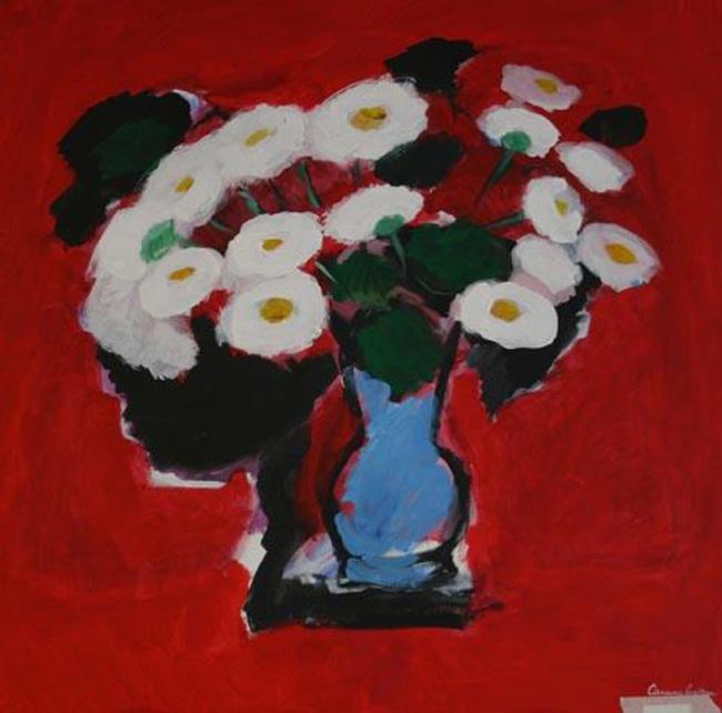 """Carmen Cretzu Iacob """"Flori și Arlechini"""" @ Galeria Alchemia, București"""