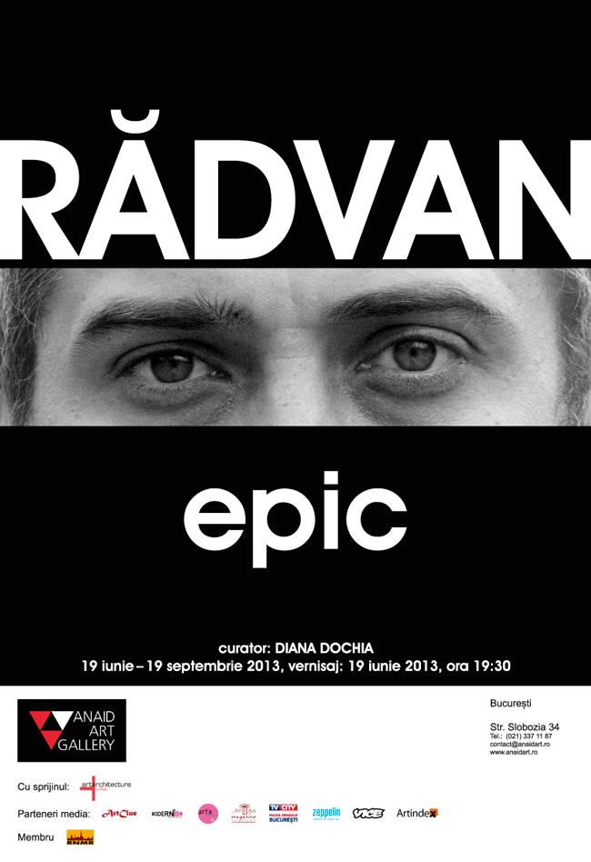 "Alexandru Rădvan, ""Epic"" @ Anaid Art Gallery"