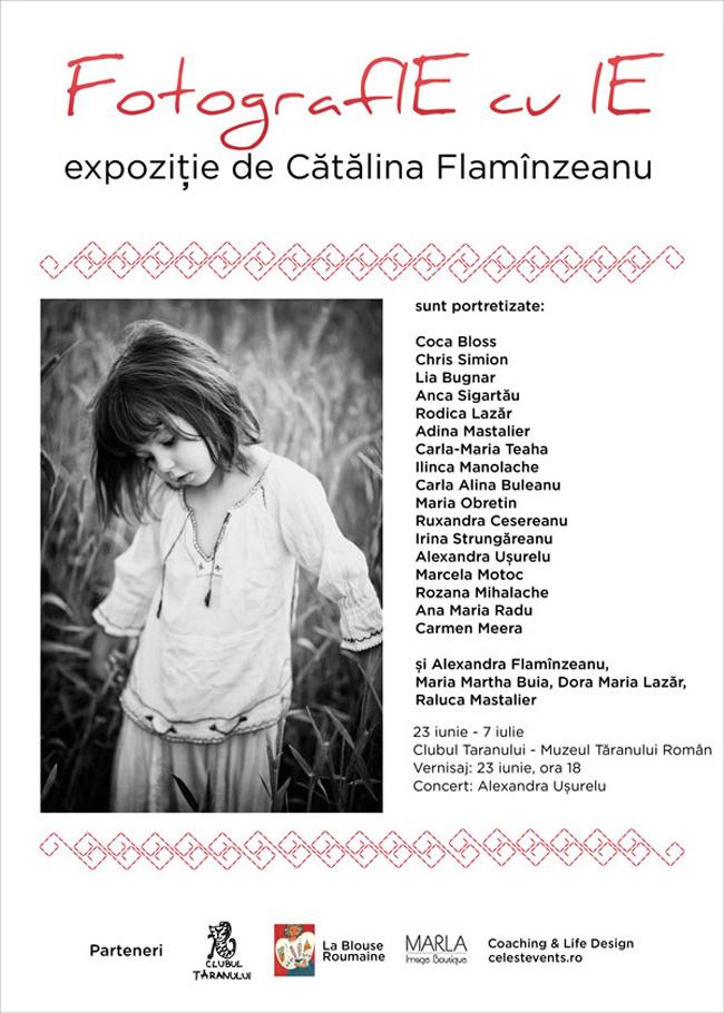 """Coca Bloos, Ruxandra Cesereanu, Lia Bugnar în expozitia, """" FotografIE cu IE"""" @ Muzeul Țăranului Român"""