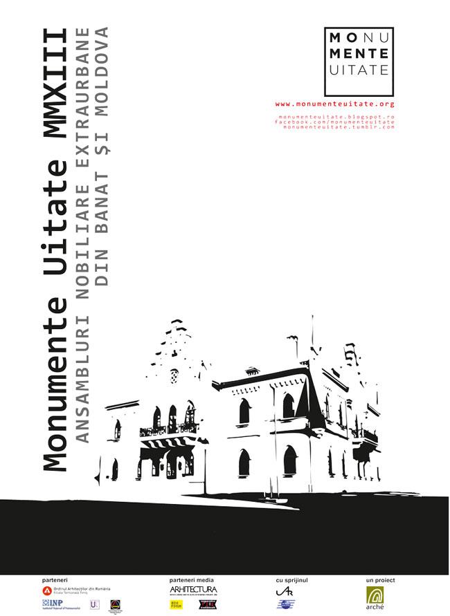 Monumente Uitate 2013 – ansambluri nobiliare extraurbane din Banat şi Moldova