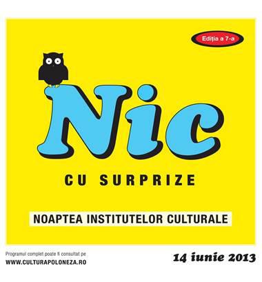 Noaptea Institutelor Culturale la Institutul Cultural Român