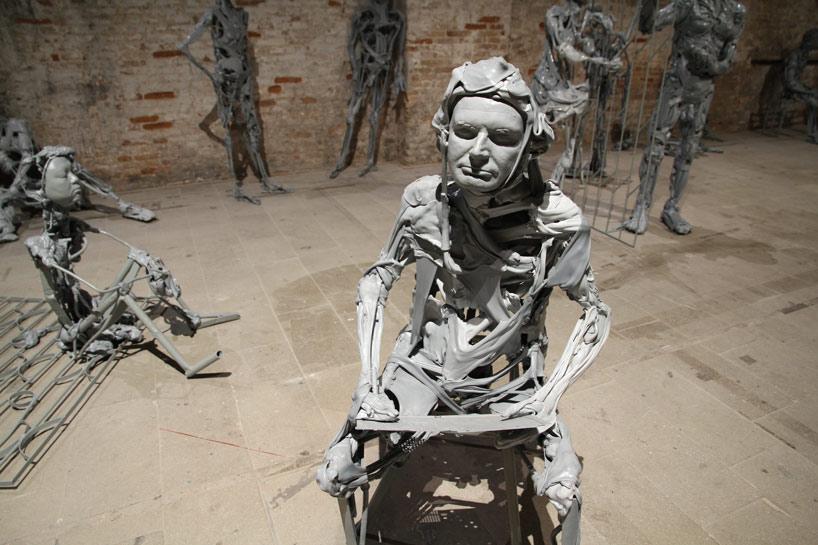 """Paweł Althamer """"Venetians"""" @ Venice Art Biennale 2013"""