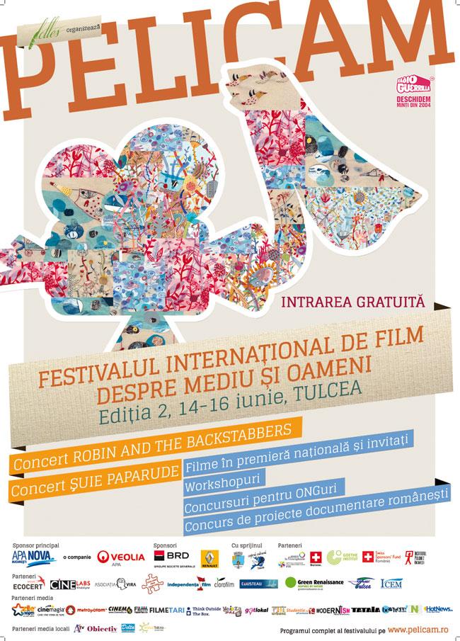 Festivalul Internațional de Film PELICAM ediția a II-a