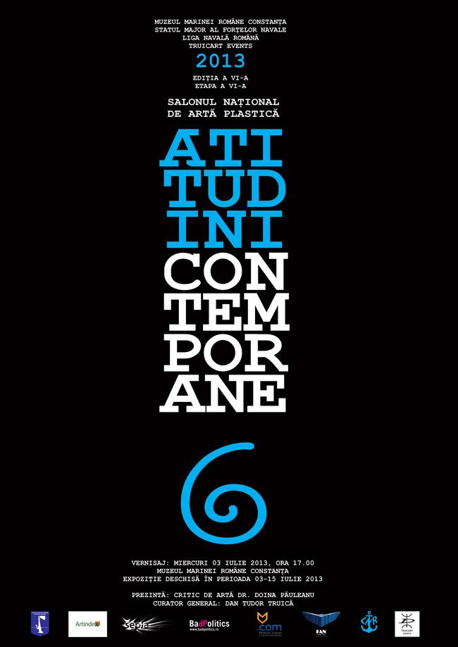 """Salonul Naţional de Artă Plastică """"Atitudini Contemporane"""" ediţia a VI-a 2013, etapa a VI-a"""