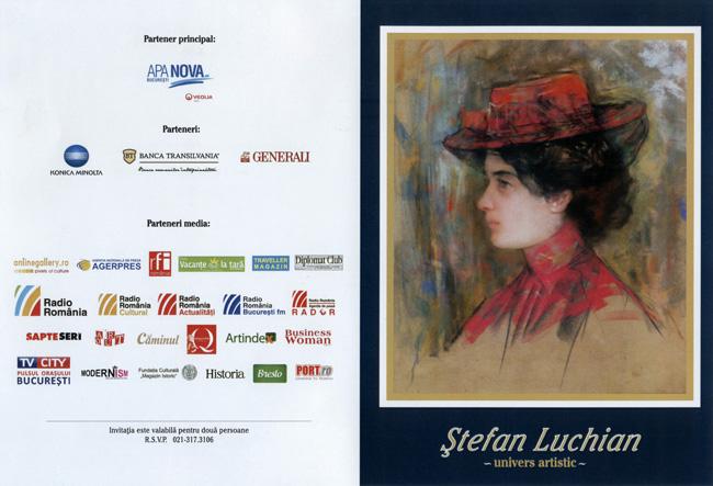 Expoziţie eveniment Ştefan Luchian @ Muzeul Naţional Cotroceni